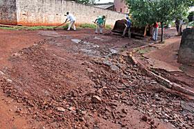 Prefeitura e Defesa Civil contabilizam estragos causados pela chuva do último sábado